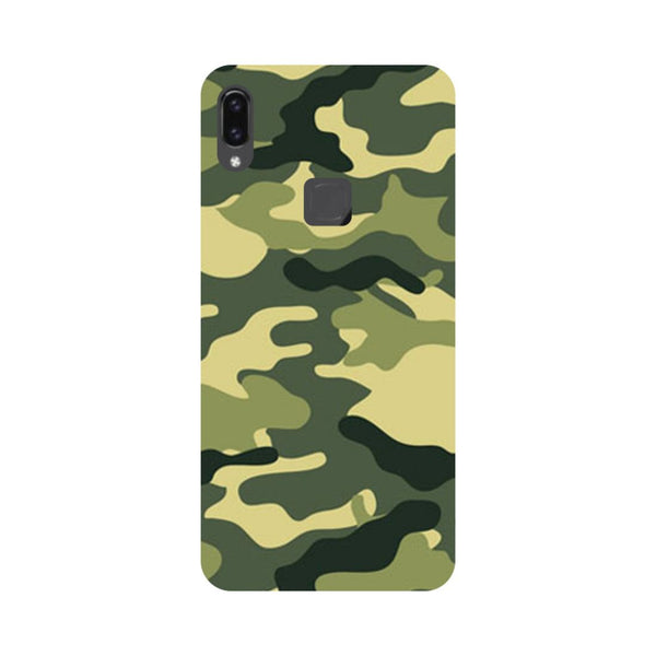 Army Camouflage- Printed Hard Back Case Cover for Vivo V9