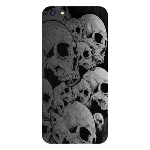 Hamee- Skulls-Printed Hard Back Case Cover For iPhone 6s