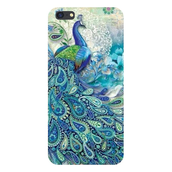 Blue peacock Vivo Y55 Back Cover-Hamee India