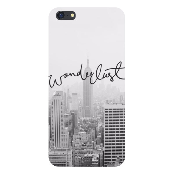 Hamee- Wanderlust-Printed Hard Back Case Cover For iPhone 6s