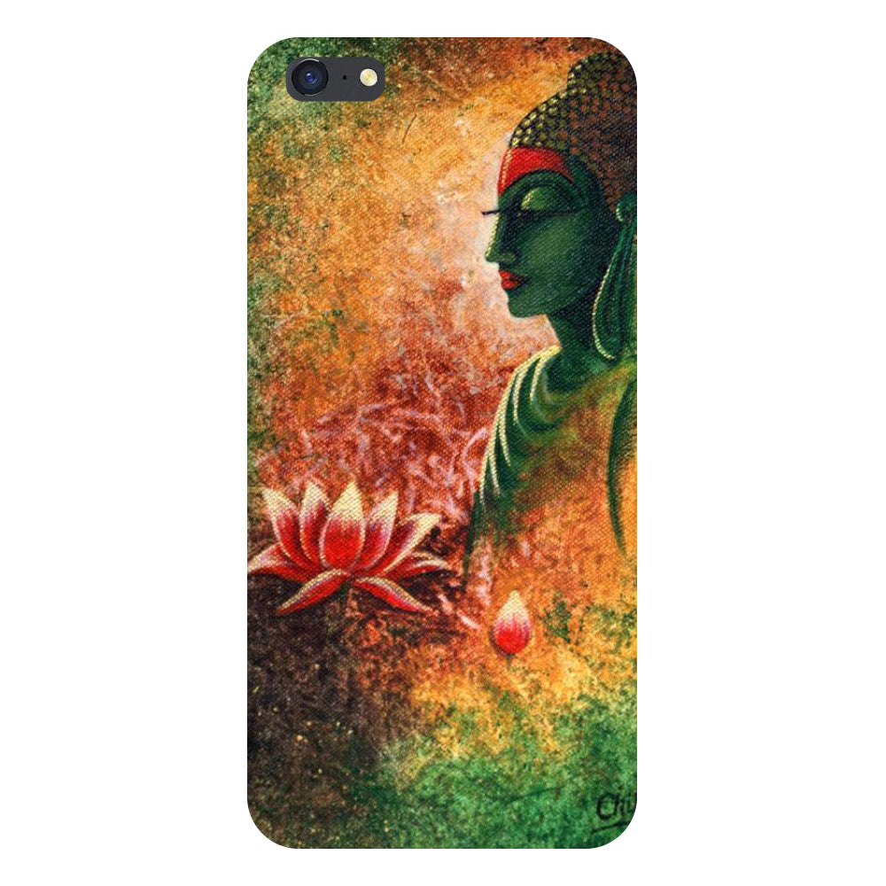 Buddha side pose Back Cover For iPhone 6s-Hamee India