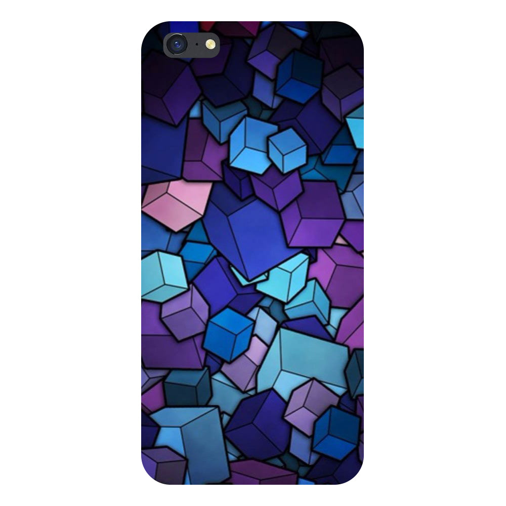 Cubes Back Cover For iPhone 8-Hamee India