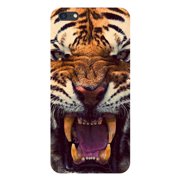 Hamee- Tiger-Printed Hard Back Case Cover For iPhone 6s-Hamee India