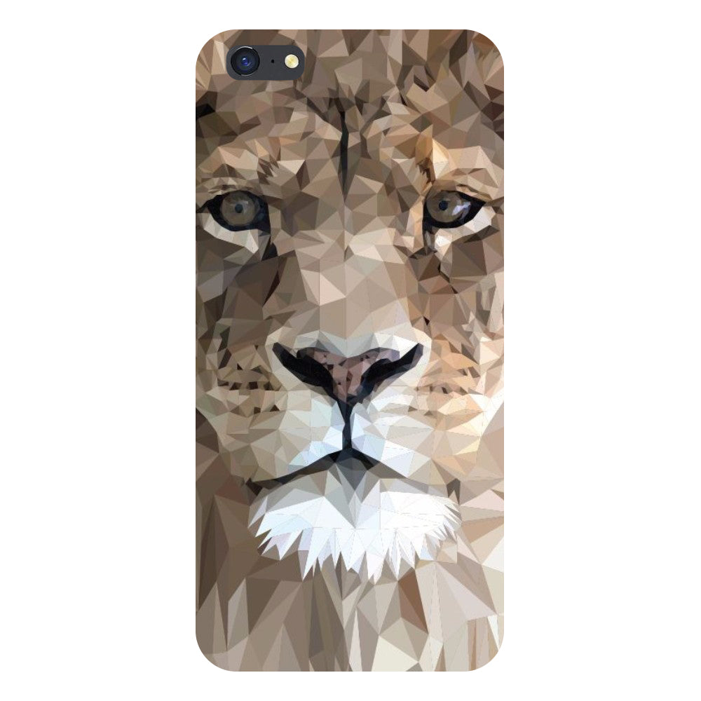 Lion abstract Back Cover For iPhone 8-Hamee India