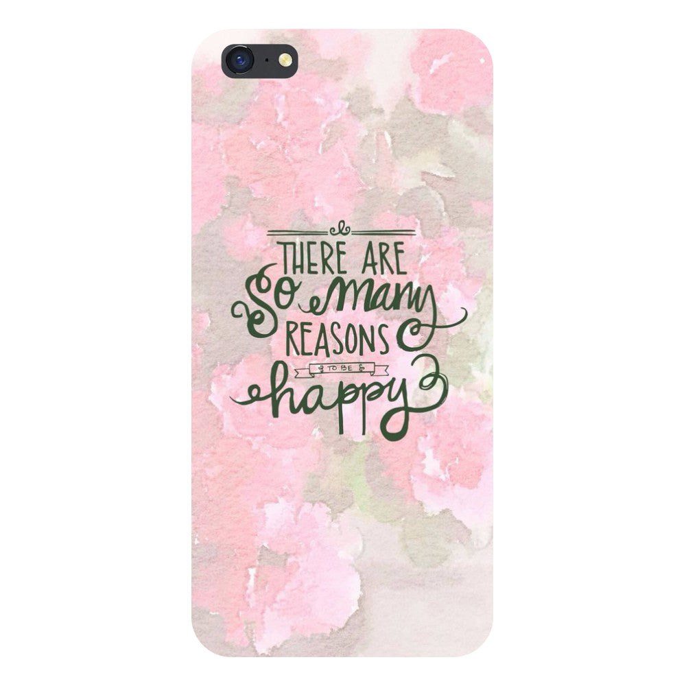 Hamee- Be Happy-Printed Hard Back Case Cover For iPhone 6s