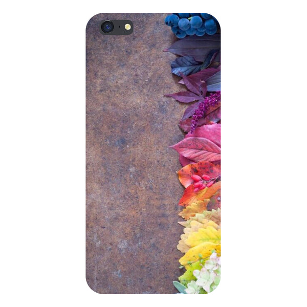 Hamee- Side flowers-Printed Hard Back Case Cover For iPhone 6