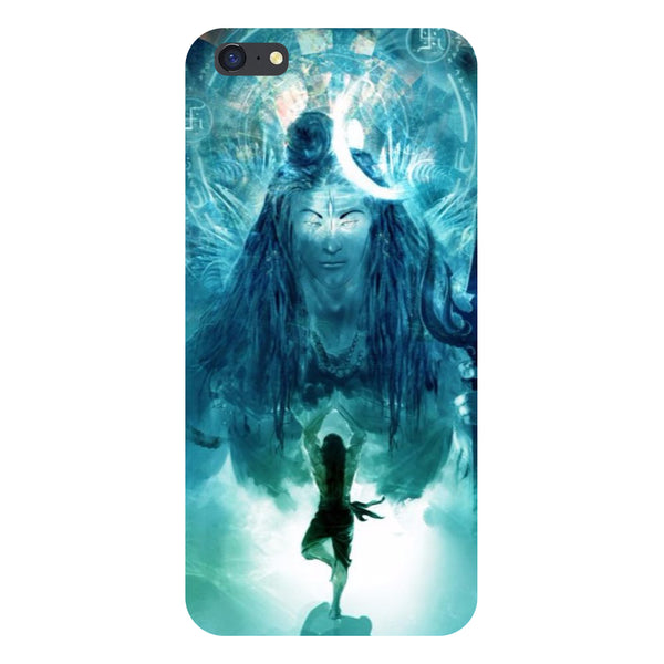 Hamee- Standing shiv ji-Printed Hard Back Case Cover For iPhone 6s-Hamee India