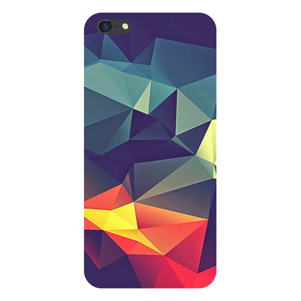 Hamee- Abstract-Printed Hard Back Case Cover For iPhone 8-Hamee India