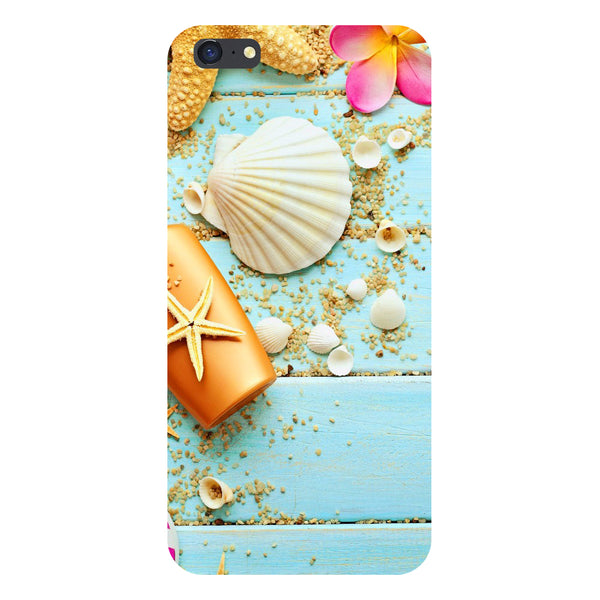Hamee- Shells-Printed Hard Back Case Cover For iPhone 6s