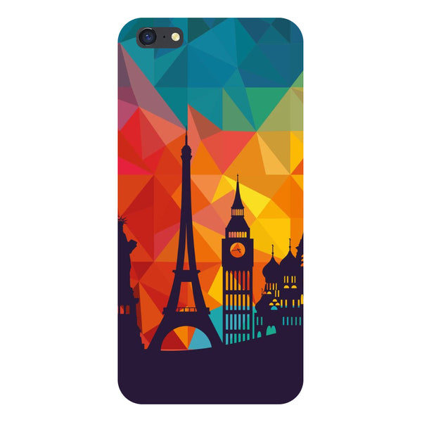 Hamee- seven wonders-Printed Hard Back Case Cover For iPhone 6s