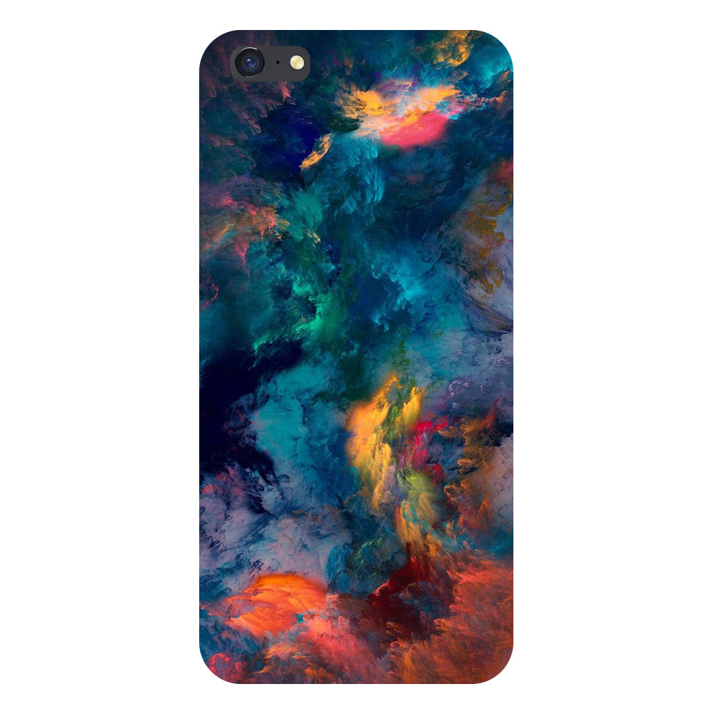 Hamee- Abstract fumes-Printed Hard Back Case Cover For iPhone 8