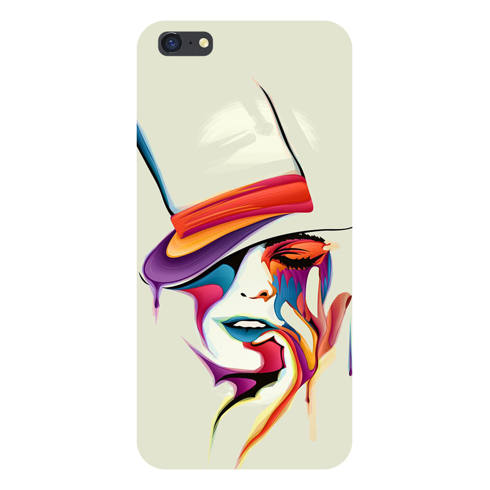Girl paint Back Cover For iPhone 6s-Hamee India