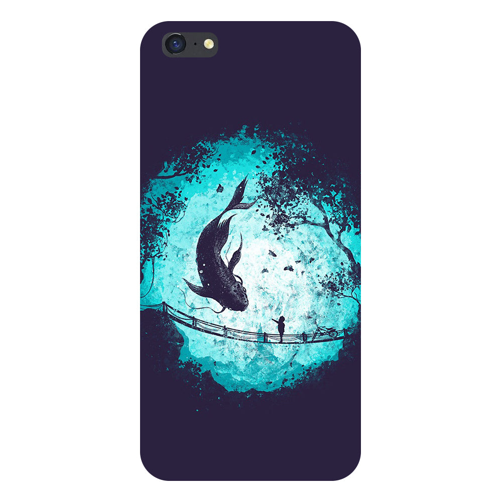 Fish Back Cover For iPhone 6-Hamee India