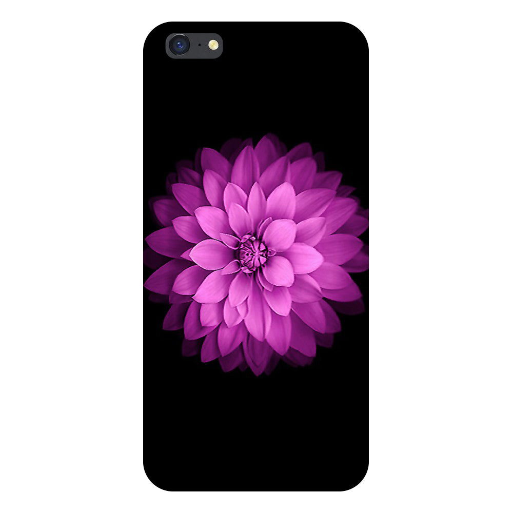 Flower purple Back Cover For iPhone 8 Plus-Hamee India