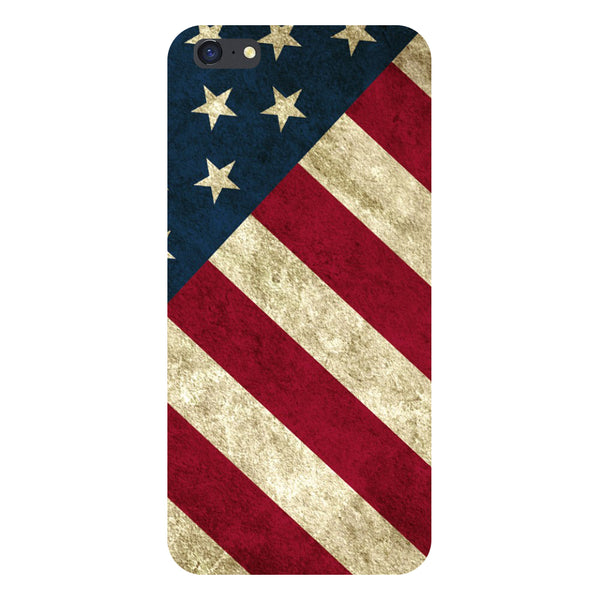 Hamee- USA flag-Printed Hard Back Case Cover For iPhone 6s-Hamee India