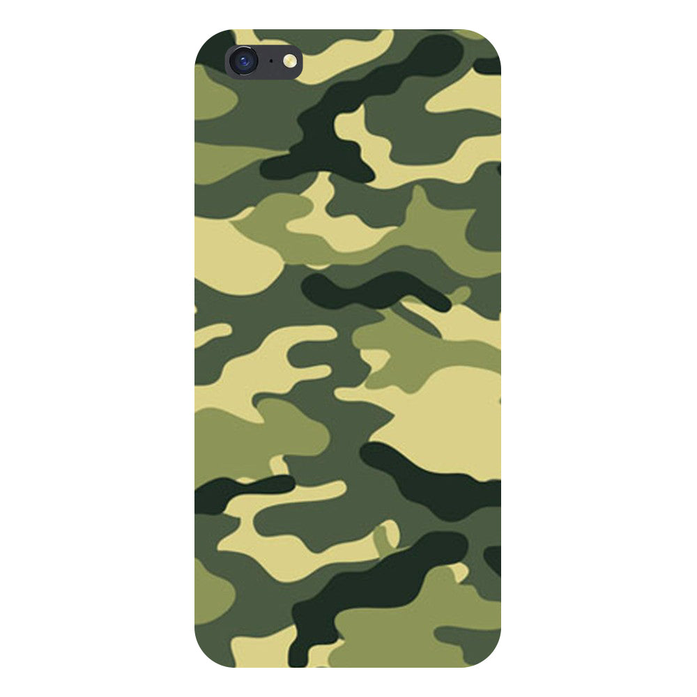 Hamee- Army Camouflage-Printed Hard Back Case Cover For iPhone 8