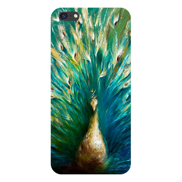 Hamee- Peacock painting-Printed Hard Back Case Cover For iPhone 6s
