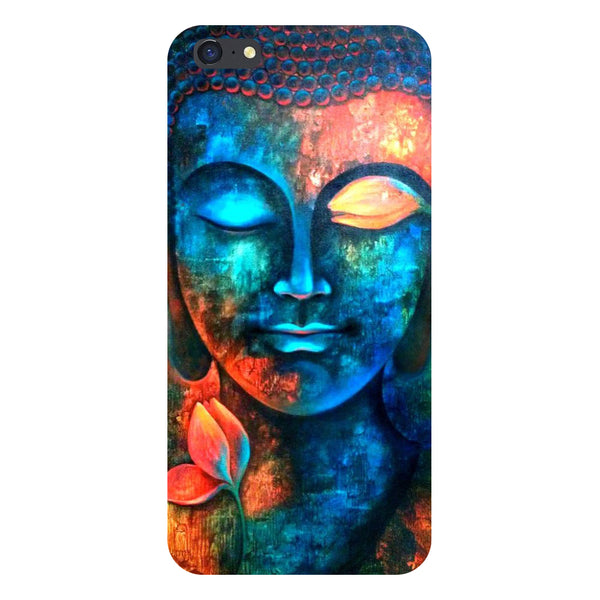 Hamee- Buddha-Printed Hard Back Case Cover For iPhone 6s-Hamee India