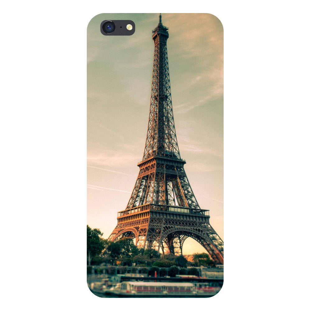 new product 8dc8c 8a52d Eiffel- Printed Hard Back Case Cover for Oppo A71