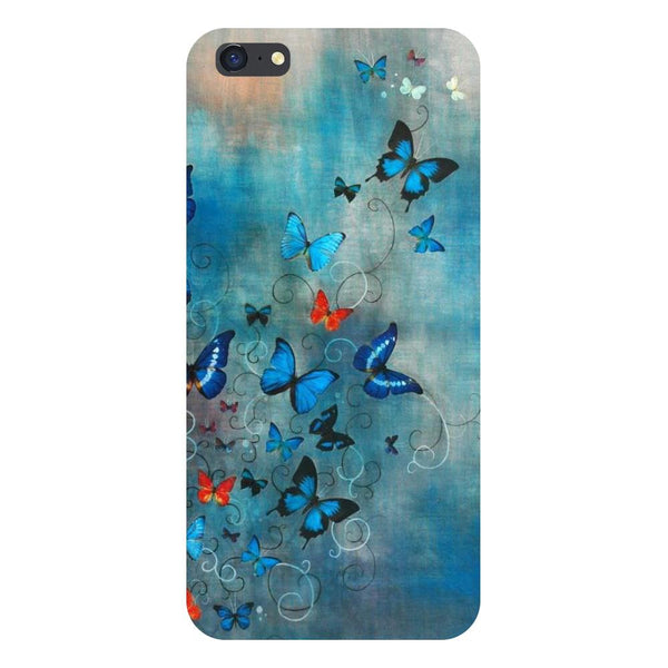 Butterflies Vivo Y55 Back Cover-Hamee India