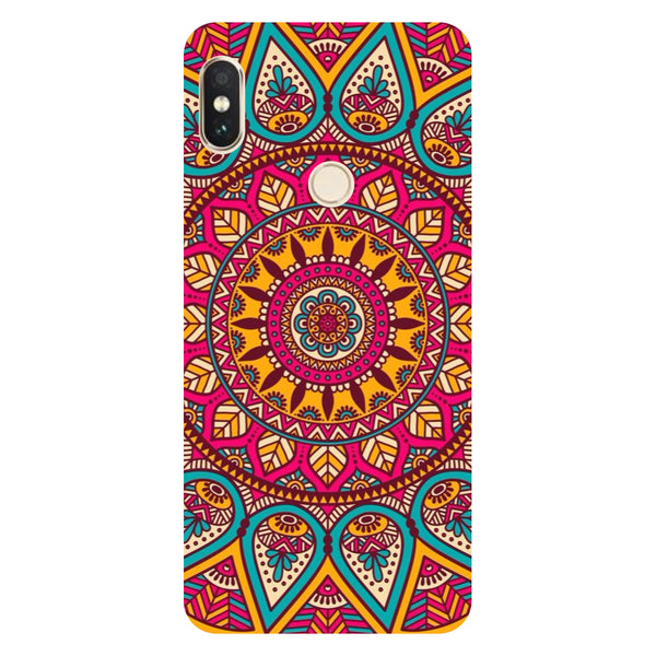 Mandala Redmi Note 5 Pro Back Cover-Hamee India