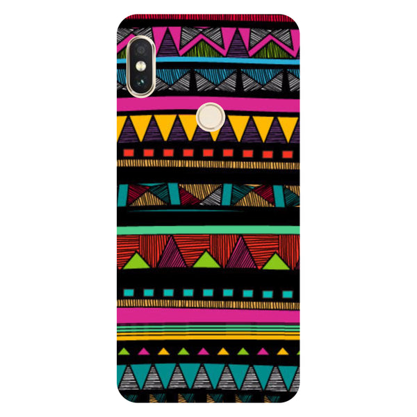 Hamee- Tribal-Printed Hard Back Case Cover For Xiaomi Redmi Y2