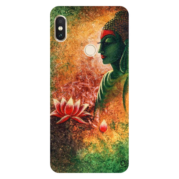 Buddha side pose Redmi Note 5 Pro Back Cover-Hamee India