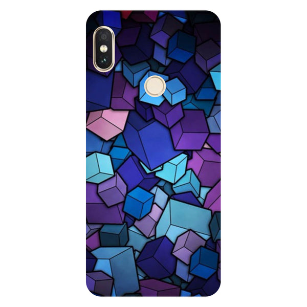 Cubes Redmi Note 5 Pro Back Cover-Hamee India