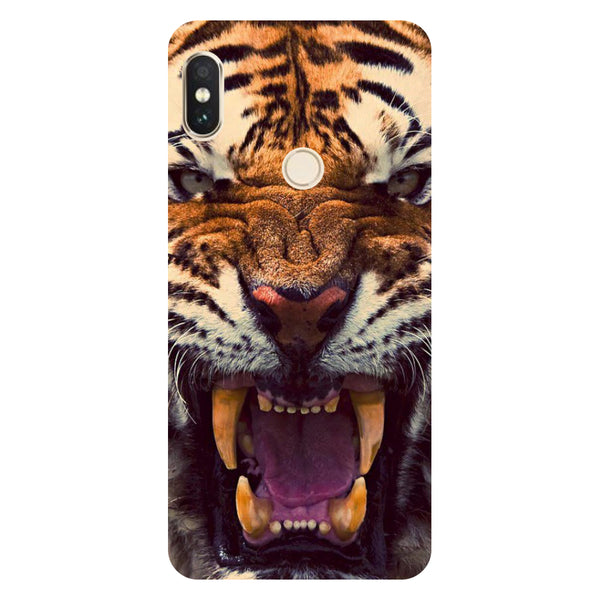 Hamee- Tiger-Printed Hard Back Case Cover For Xiaomi Mi 8-Hamee India