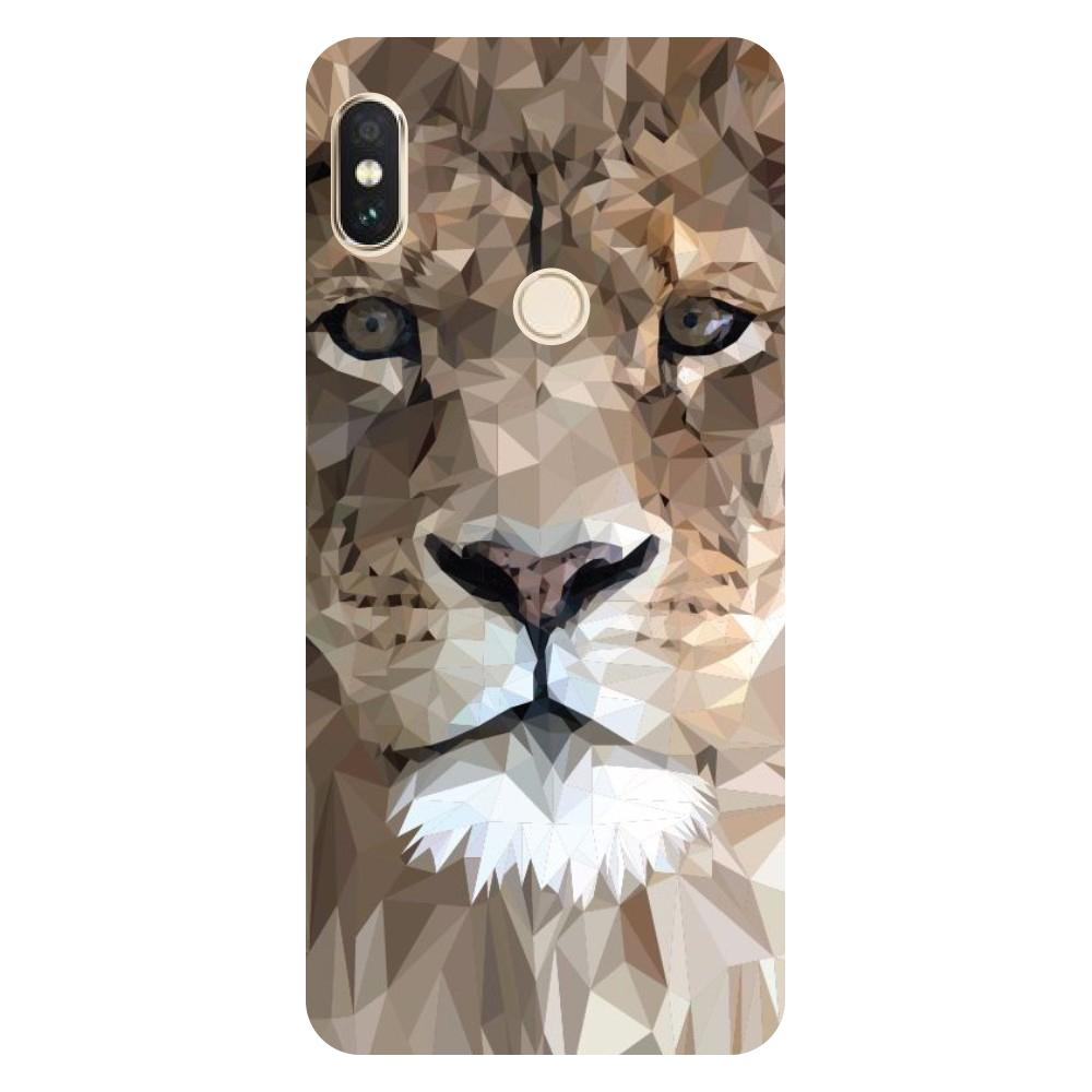Lion abstract Mi Max 3 Back Cover-Hamee India