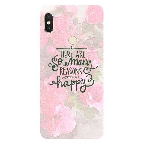 Be Happy Redmi Note 5 Pro Back Cover-Hamee India
