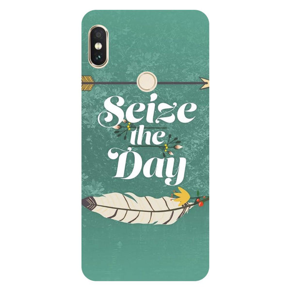 Seize the day Mi Max 3 Back Cover