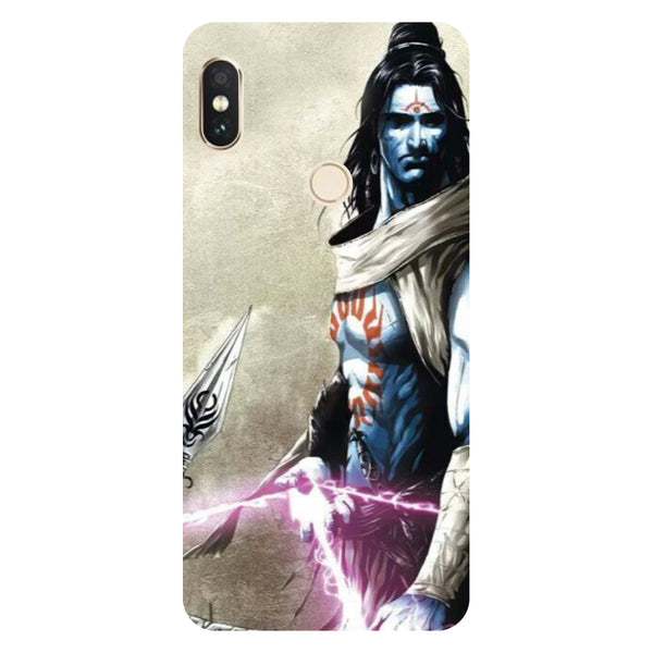 Hamee- Shiva Side-Printed Hard Back Case Cover For Xiaomi Mi 8-Hamee India