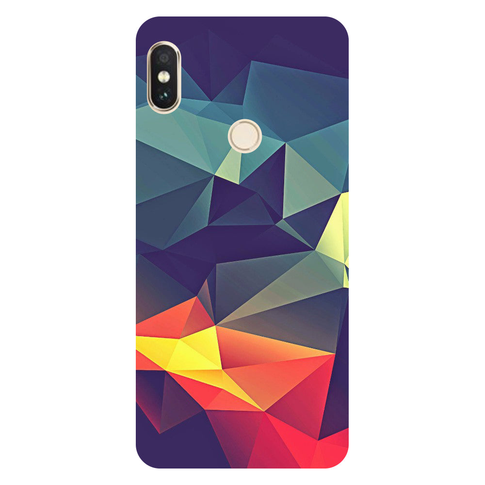 Abstract Redmi Y2 Back Cover-Hamee India