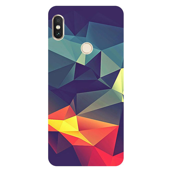 Abstract Redmi Note 5 Pro Back Cover-Hamee India