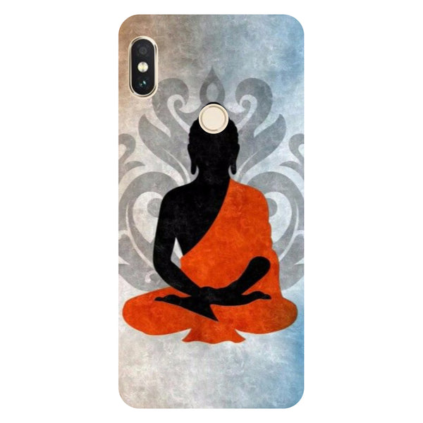 Hamee- Yoga-Printed Hard Back Case Cover For Xiaomi Mi 8-Hamee India