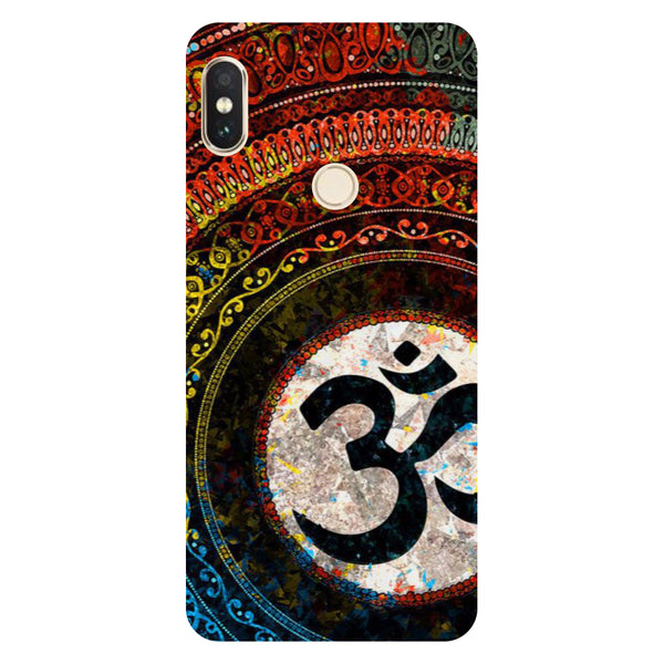 Hamee- Om-Printed Hard Back Case Cover For Xiaomi Mi 8-Hamee India