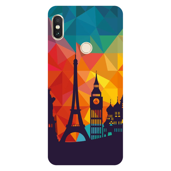 Hamee- seven wonders-Printed Hard Back Case Cover For Xiaomi Mi 8-Hamee India