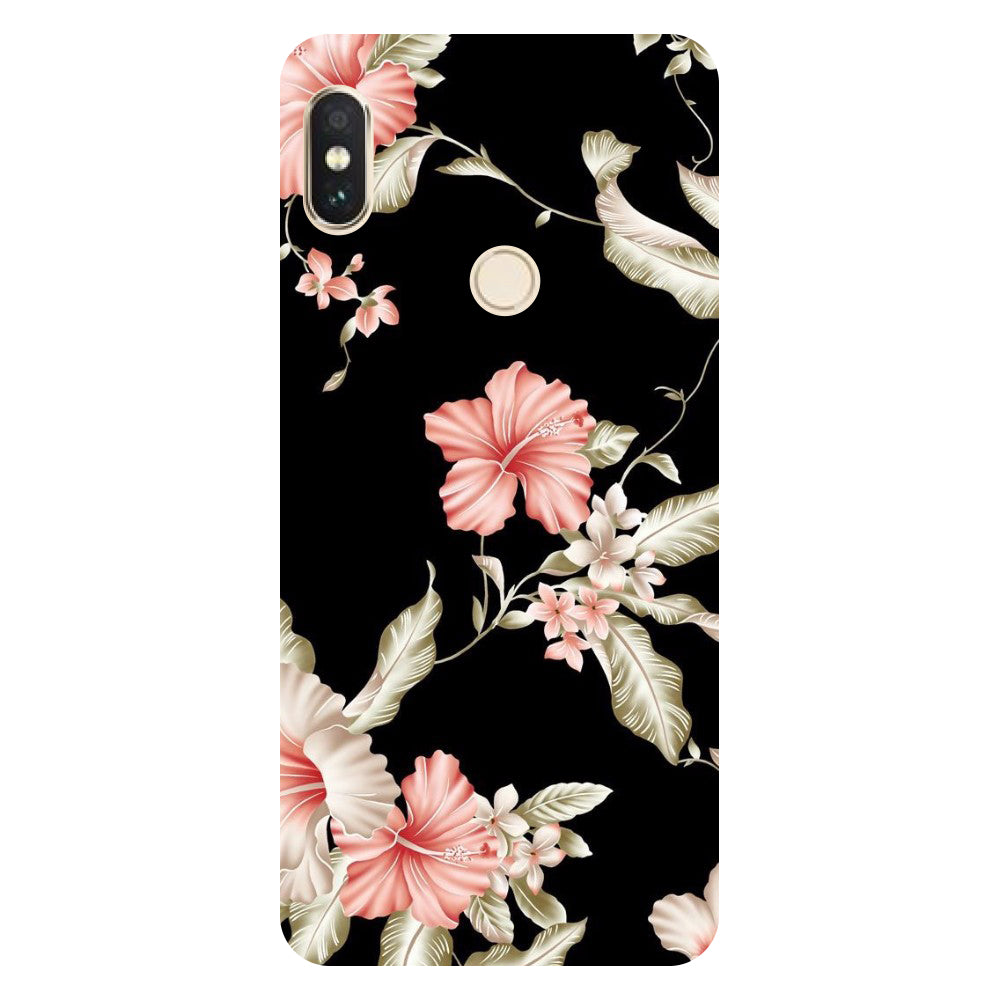 save off 385c1 14e12 Flowers Redmi Note 5 Pro Back Cover