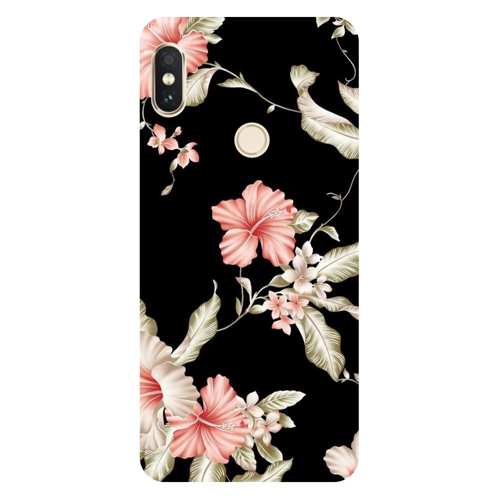 super popular 82fc9 e0918 Flowers Mi Max 3 Back Cover