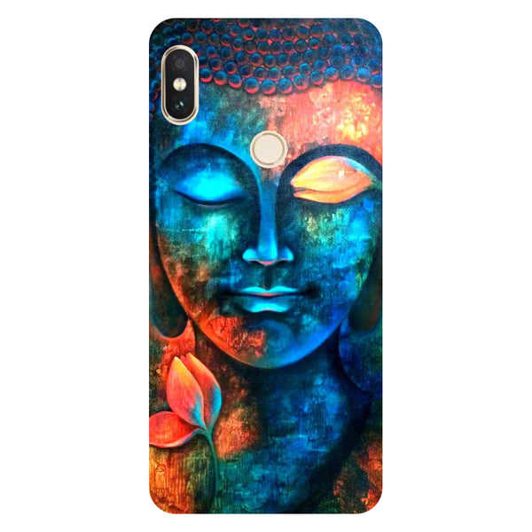 Hamee- Buddha-Printed Hard Back Case Cover For Xiaomi Redmi Y2