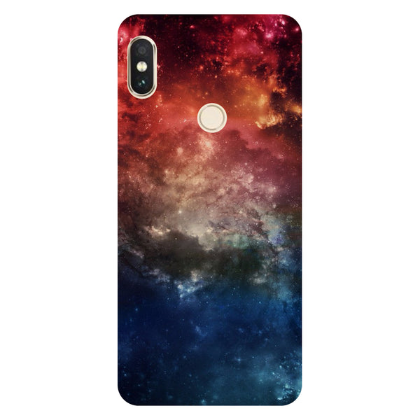 Hamee- Space-Printed Hard Back Case Cover For Xiaomi Mi 8