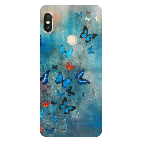 Butterflies Redmi 6 Pro Back Cover-Hamee India