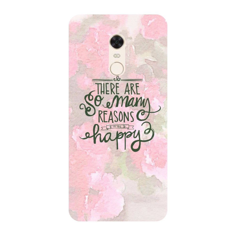 Be Happy Redmi 5 Back Cover-Hamee India