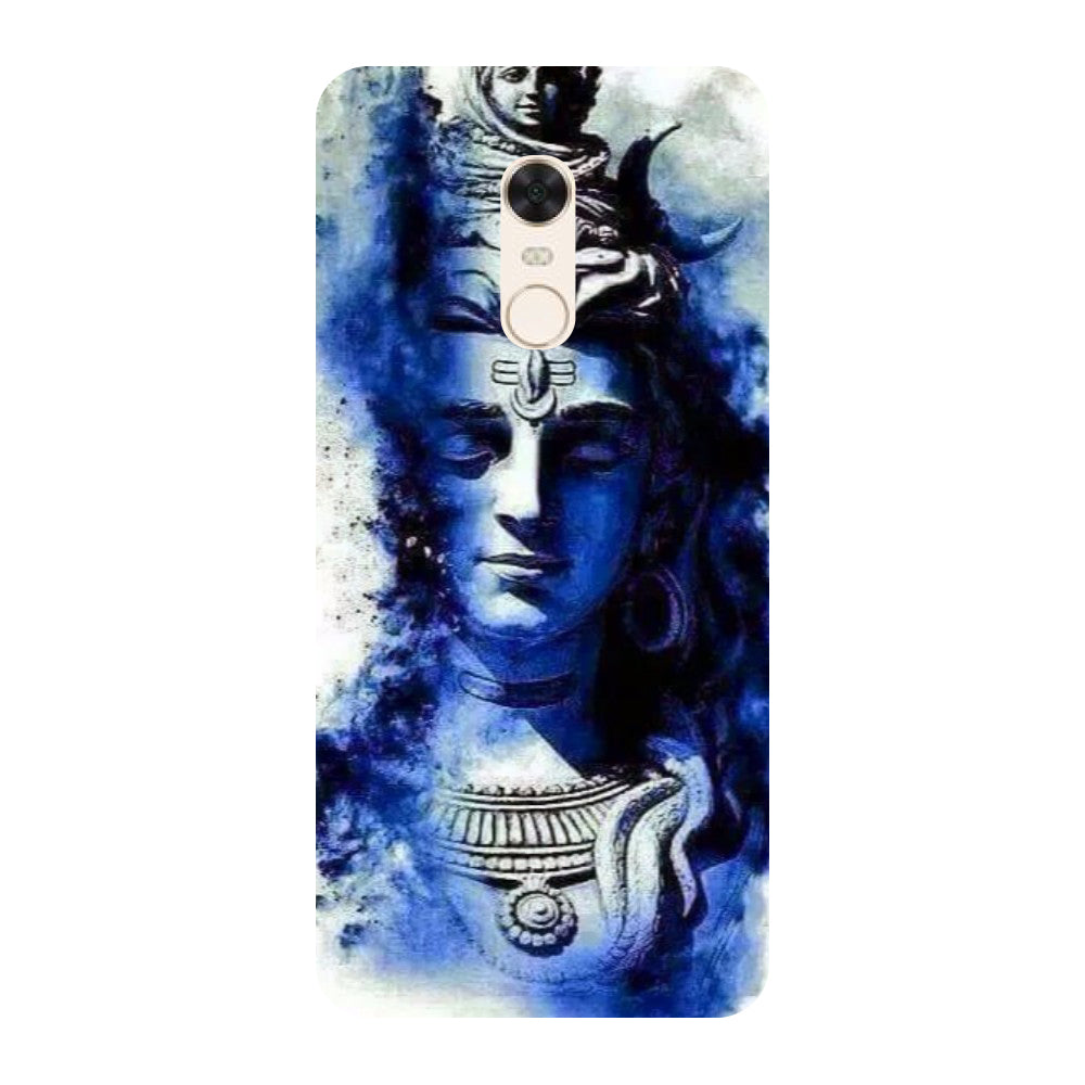 Blue shiva Redmi 5 Back Cover-Hamee India