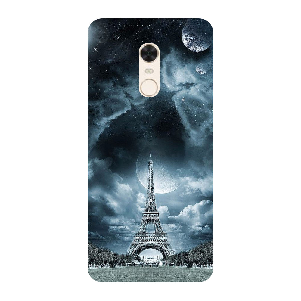 reputable site 8fa0b de5ed Blue Eiffel Redmi 5 Back Cover