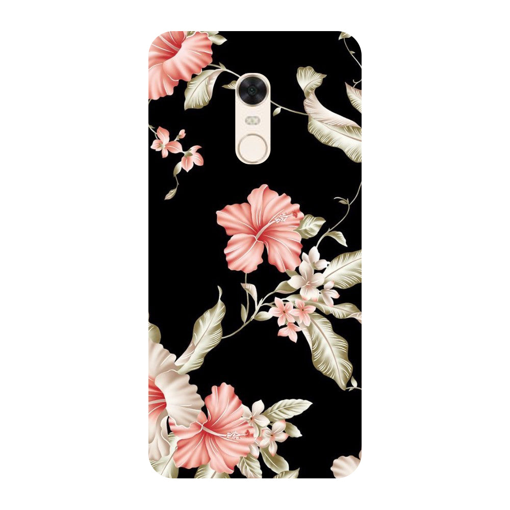 low priced 490ae 0afd9 Flowers Redmi 5 Back Cover