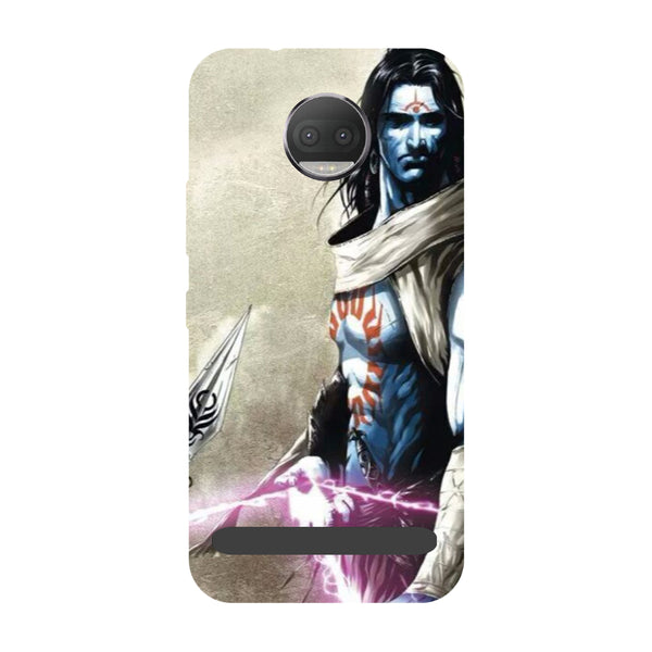 Shiva Side- Printed Hard Back Case Cover for Moto Z3 Play