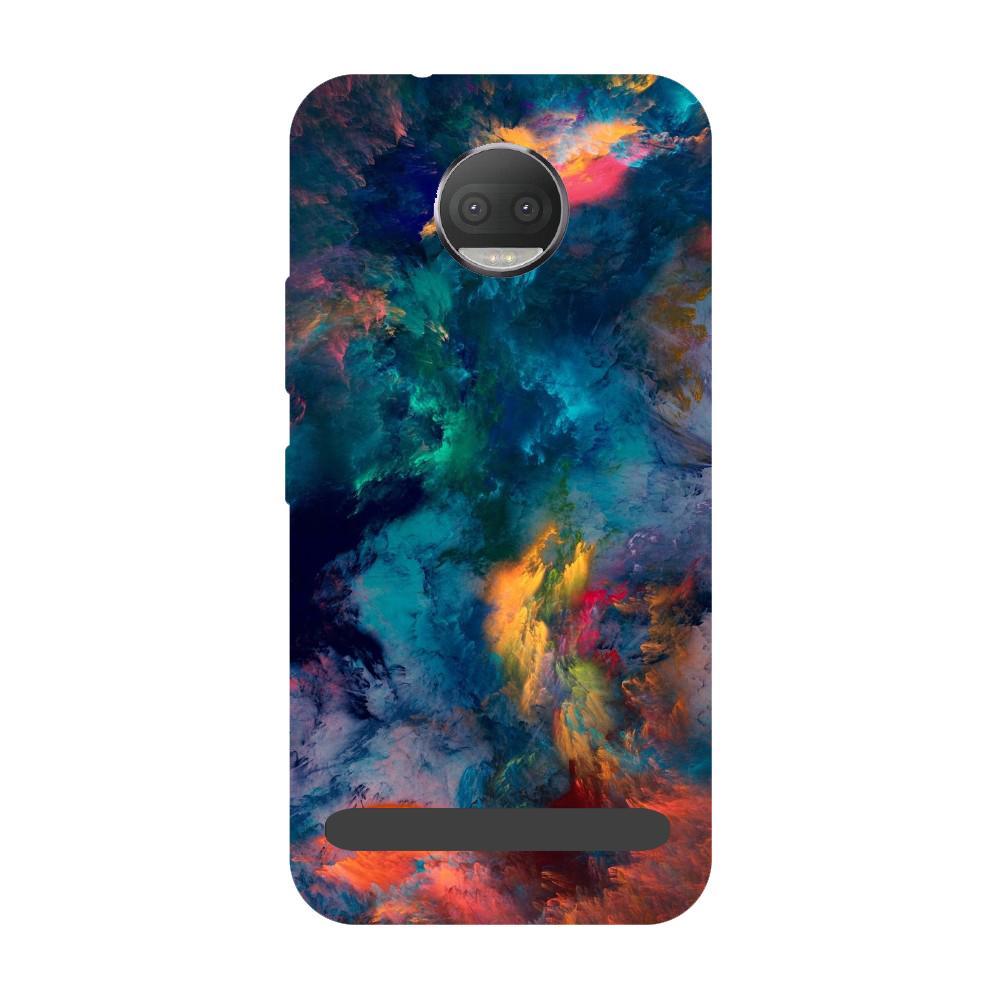Abstract fumes- Printed Hard Back Case Cover for Moto Z3 Play