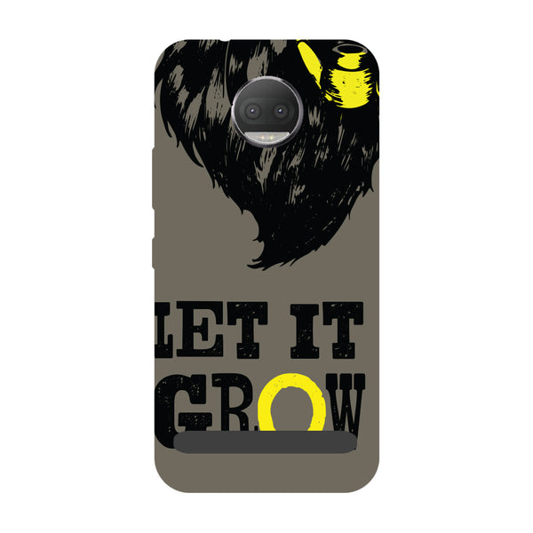Let it grow- Printed Hard Back Case Cover for Moto Z3 Play-Hamee India